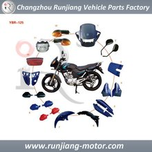 Motorcycle Plastic Fairings Parts For YBR125