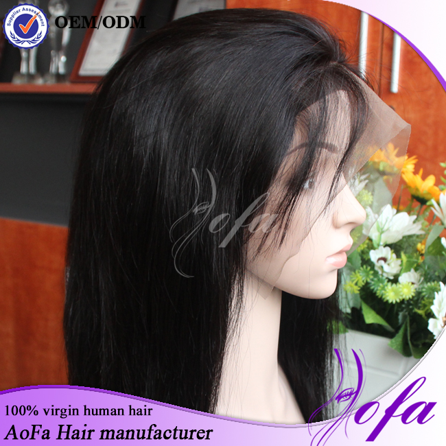 Lace Frontal Wigs Ponytail Full Lace Human Hair Wigs With Baby Hair Lace Wigs Virgin Hair For Black Women