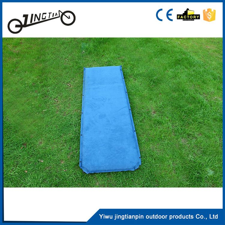 Hiking picnic pad durable waterproof automatic inflatable cushion foam kneeling self inflating mat