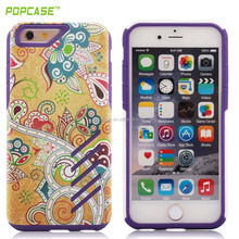 popcase sublimation hard PC+SILICONE smartphones case