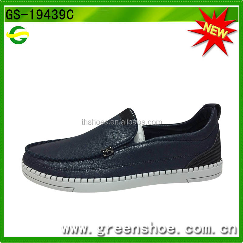 High quality leather mens loafers from Jinjiang factory