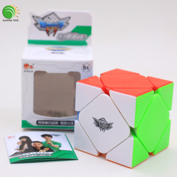 CYCLONE BOYS Puzzle Cube skewb magnetic cube competition stickerless Educational plastic toys