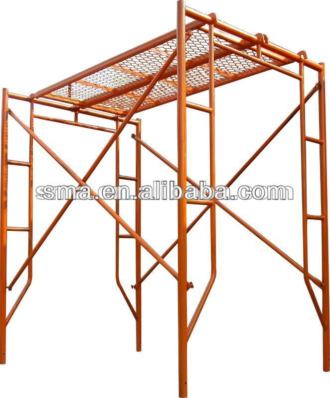 Construction Movable Platform Metal Frame Scaffolding ( Real Factory ...