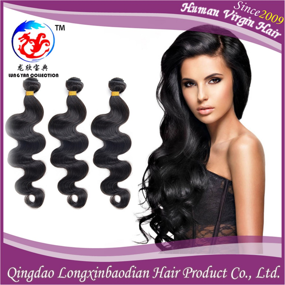 Best selling Ideal hair arts grade 7A wavy brazilian virgin human hair