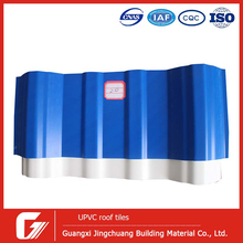 corrugated UPVC PVC roofing tiles plastic color roof philippines