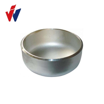 Hot selling stainless Steel end cap pipe fitting