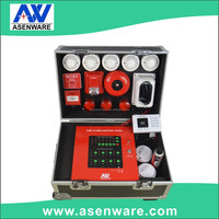 Sample showcase / conventional fire alarm system / fire evacuation