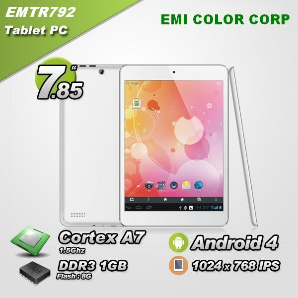 7.85 inch Android Tablet PC MID