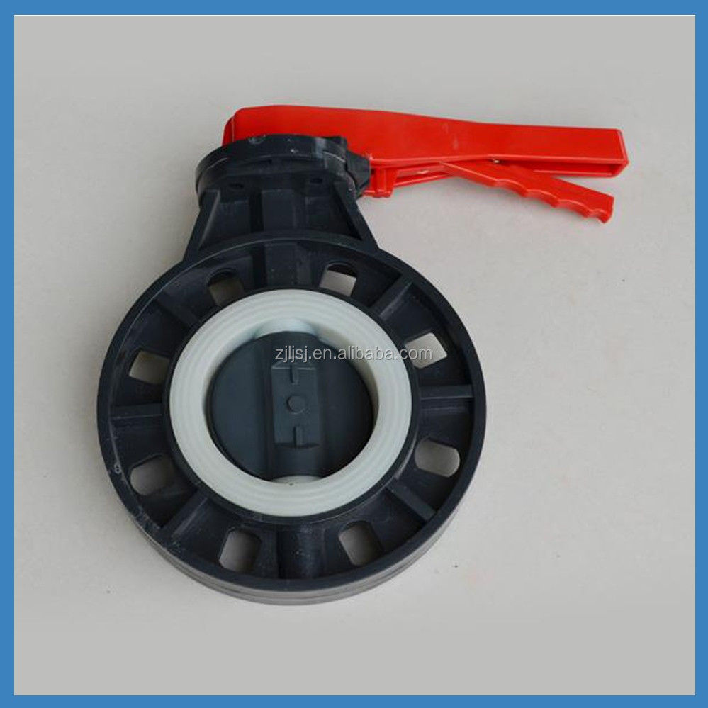 Lever Type PVC Butterfly ball Valve for Agriculture Irrigation