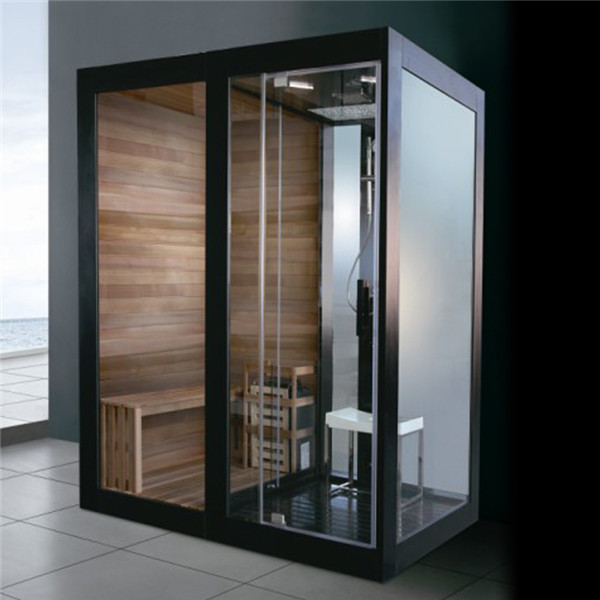 sauna steam shower combination multifunctional steam sauna combined room m 8287 buy steam. Black Bedroom Furniture Sets. Home Design Ideas