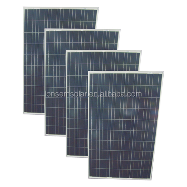 12V 100W 120W 130W 150W 300W PV Modules Chinese Polycrystalline Solar Panel Prices M2