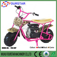 80CC cheap gas scooters for sale kids motorcycle FSD80P