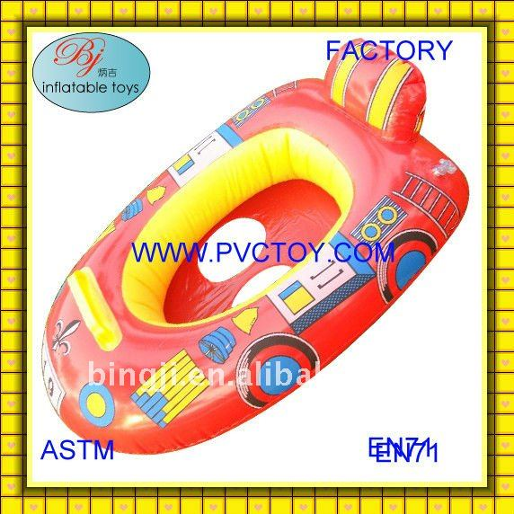 Hot factory direct non-phthalate plastic pvc air inflatable boat for sale