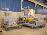 Dry powder briquette machinery