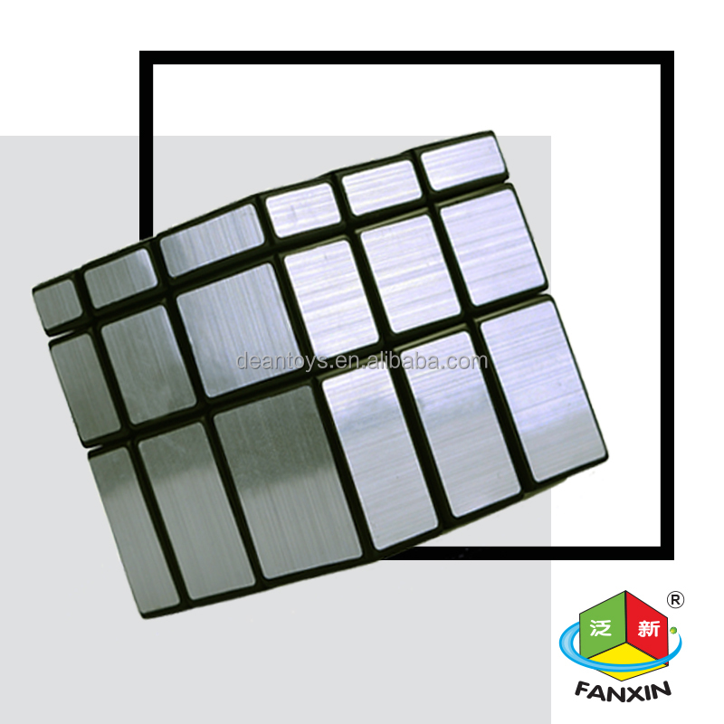 18 pieces/parcel!Elegance!! Exquisite 3X3X3 mirror cube(5.7CM) for gift and collection! IQ test!