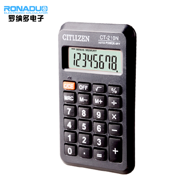 wallet sized calculator with 8 digit solar calculator colorful electronic 8 digital calculator electronic gift manufacturer