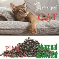 natural activated carbon wood cat litter animal products