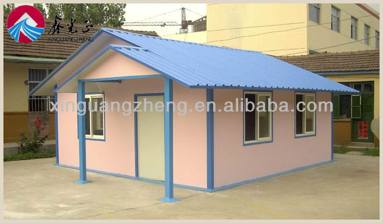 Steel structure prefaba frame modular homes /Carport/coffee room/ movable container home with CE and ISO9001/homes/poutry home