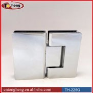 Glass shower door glass to glass 180 degree hinge