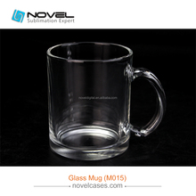 Hot Popular Sublimation Blank Glass Mug,Glossy/ Frosted Custom Glass Mug