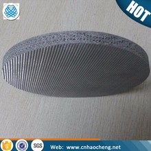 1 5 10 15 45 75 Micron stainless steel sintered porosity steel mesh filter disc