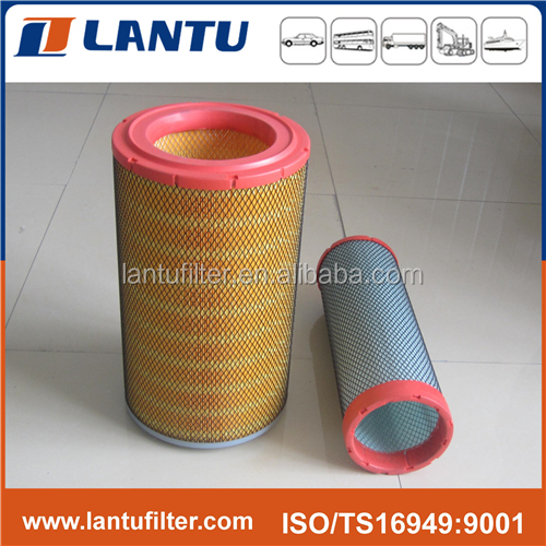 Lantu Factory High Quality Heavy Duty truck AUTO Spare Parts Filteration K2440 air filter for Weichai Diesel Engine