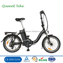 2017 Hot selling foldable electric bicycle / fast electric mini bikes / lehe electric scooter