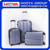 2016 Fashion Wholesale ABS+PC 3pcs/set business Travelling Luggage set