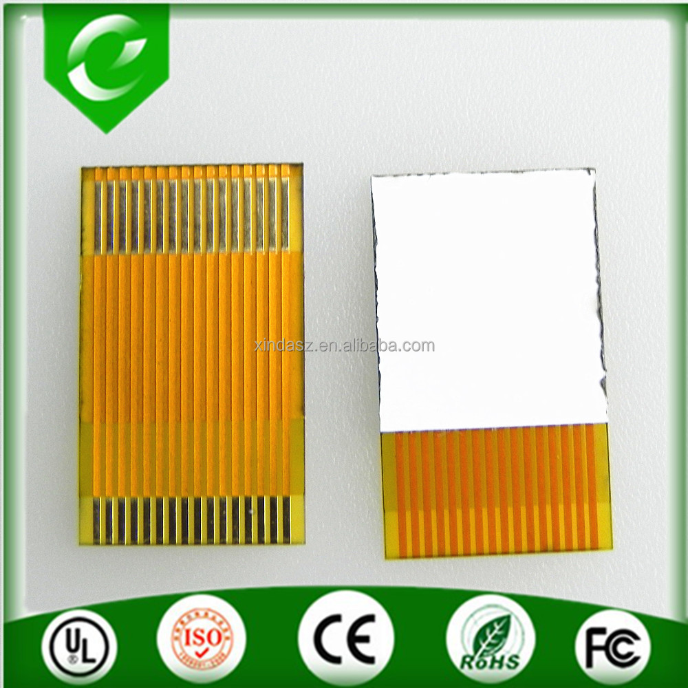 New arrival china supplier 16pin yellow fpc flat cabo for mobile phone