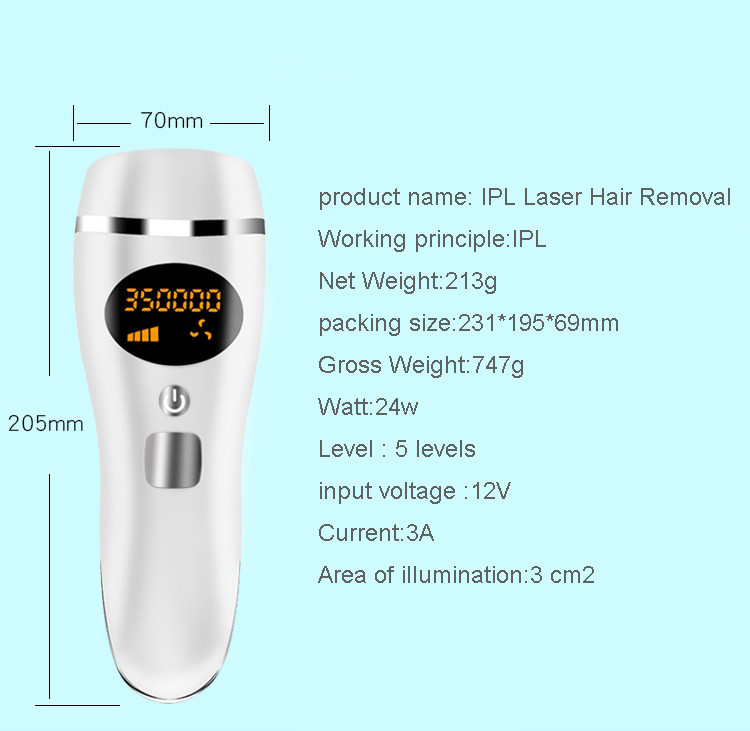 2019 new arrival Painless Whole Body permanent ipl hair removal