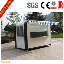 Mobile Food Kiosk/Mobile Coffee Shop with wheels design for sale