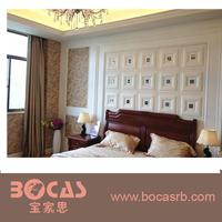 Good Quality Interior Decorative PVC 3D Wall Panels Bed Wall Background