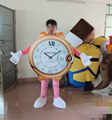 HOLA clock mascot costume/cosplay costume for sale