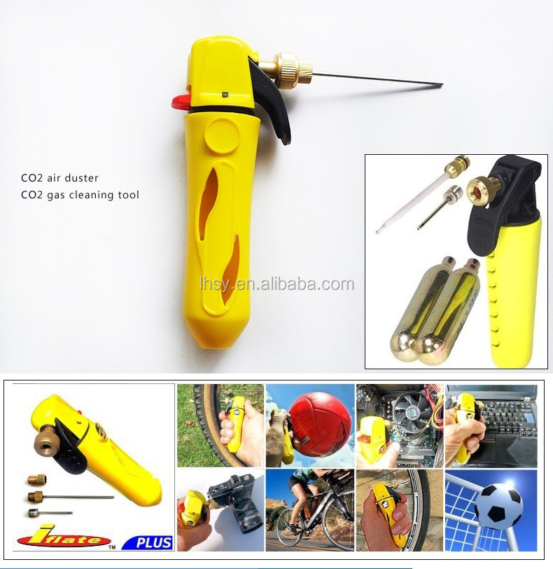 hot-selling co2 Piping Dredging air duster gas cleaning tool from factory