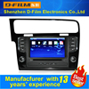 The latest windows 6.0.0 HD car dvd player with GPS navigation wifi 3G usb OEM vedio DVD av radio bluetooth map multilanguages