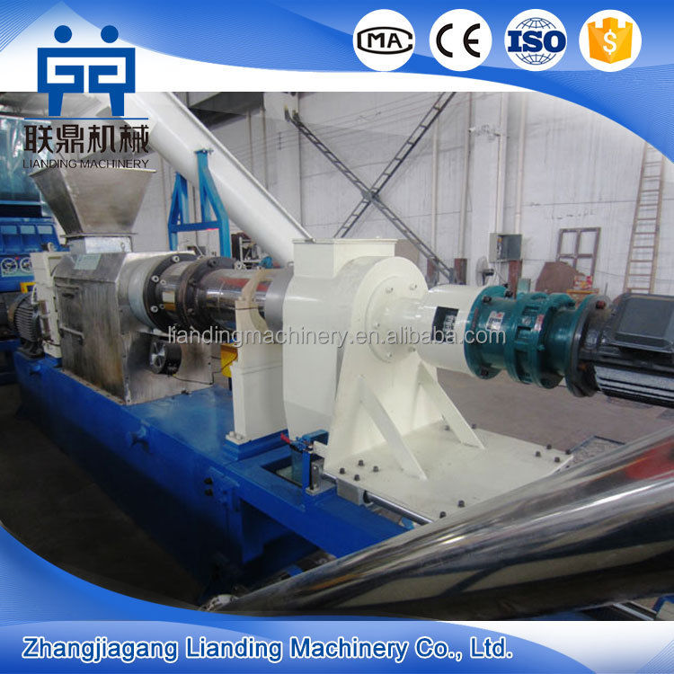 New technology wet film squeeze dryer and granulation machine
