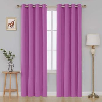 blackout Pink curtain