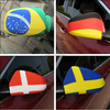 Wholesale personalize fast delivery durable car mirror cover flag