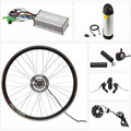 "20"" 24"" 26"" 28"" 700c rear wheel front wheel electric bike kit with tube battery"