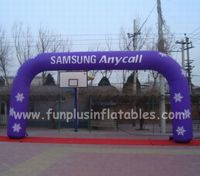 Branding Inflatable archways,advertising inflatable arches with logo P1019(2)