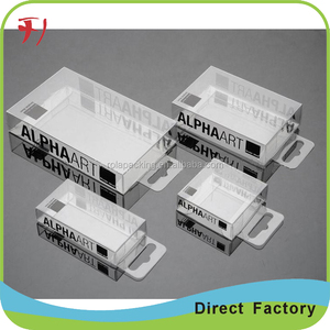 hard Optimum quality clear vinyl boxes/acetate box/clear acetate boxes