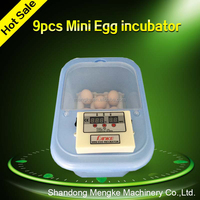New Type 9 Eggs Mini Egg Incubator for Home Use/ Automatic Mini Hatcher with Promotional Price