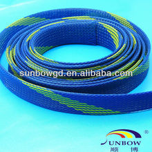 Hose and cable protection fire resistant expandable sleeving