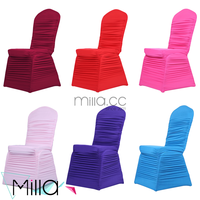 Spandex Ruched Chair Cover