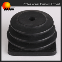 China manufacture industial grade high quality corrugated rubber air bellow