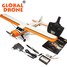 2016 super strong rc glider A600 XK DHC-2 5CH 3D6G System RC Airplane Brushless remote control planes Compatible Futaba rc drone