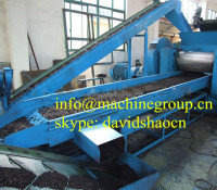 semi-auto waste tyre recycling machine for rubber powder production line