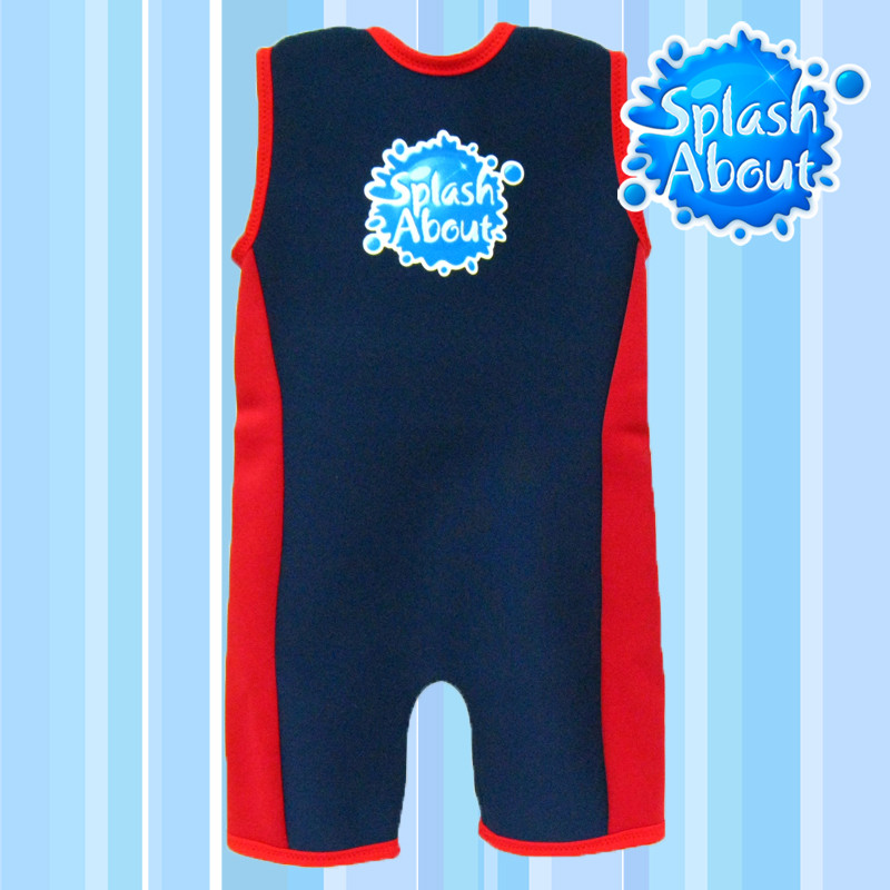 Fashionable swimwear manufacturer one piece 2.5mm Colored NEOPRENE UPF50+ taiwan 1-6y Splash About combie
