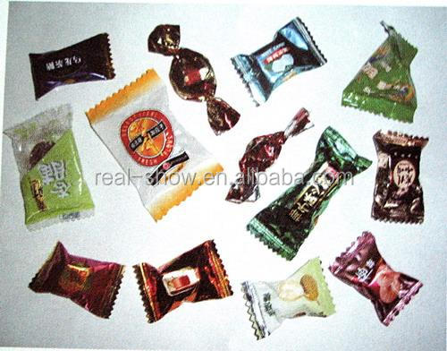 Printed customized chocolate wrapping foil sheet with good quality
