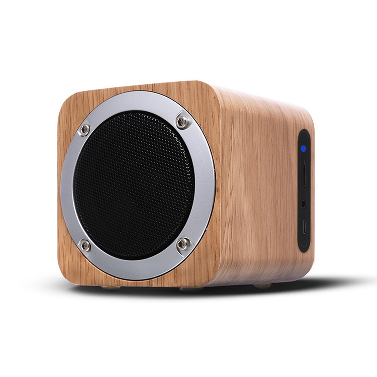 Magnetic horn Loudspeakers 3D HIFI retro wooden wireless bluetooth <strong>speaker</strong> for home party